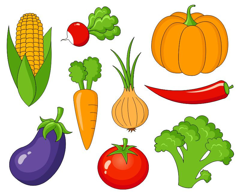 Vegetable clip art for kids free clipart images