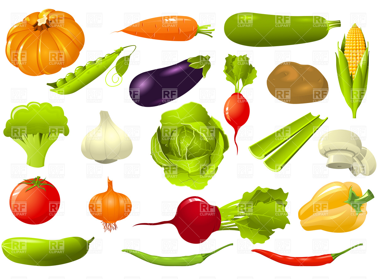 vegetables clip art #70