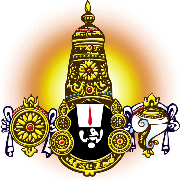 lord venkateswara clipart 1