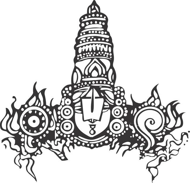 lord venkateswara clipart 3