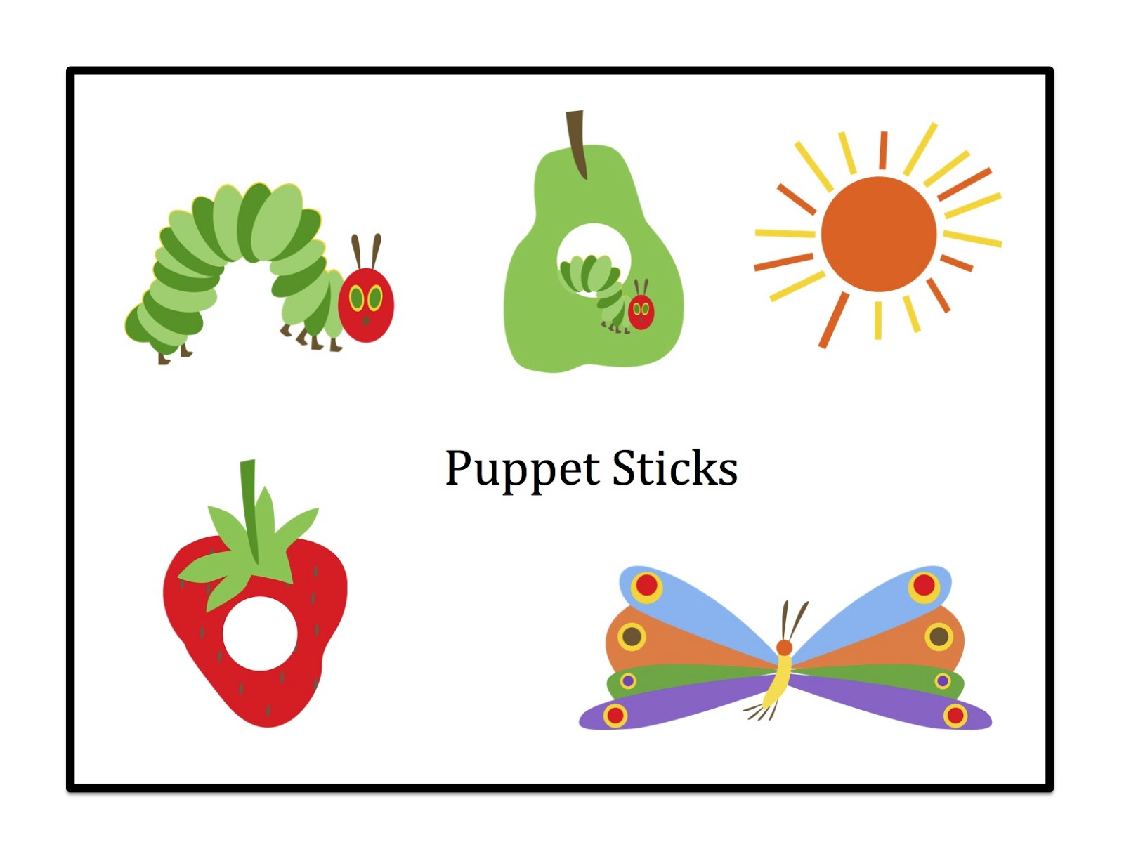 very hungry caterpillar clipart