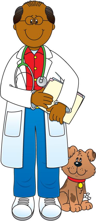 Veterinarian cliparts
