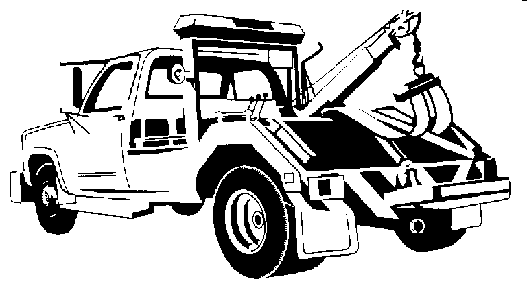 View Tow Truck Clipart 8kb