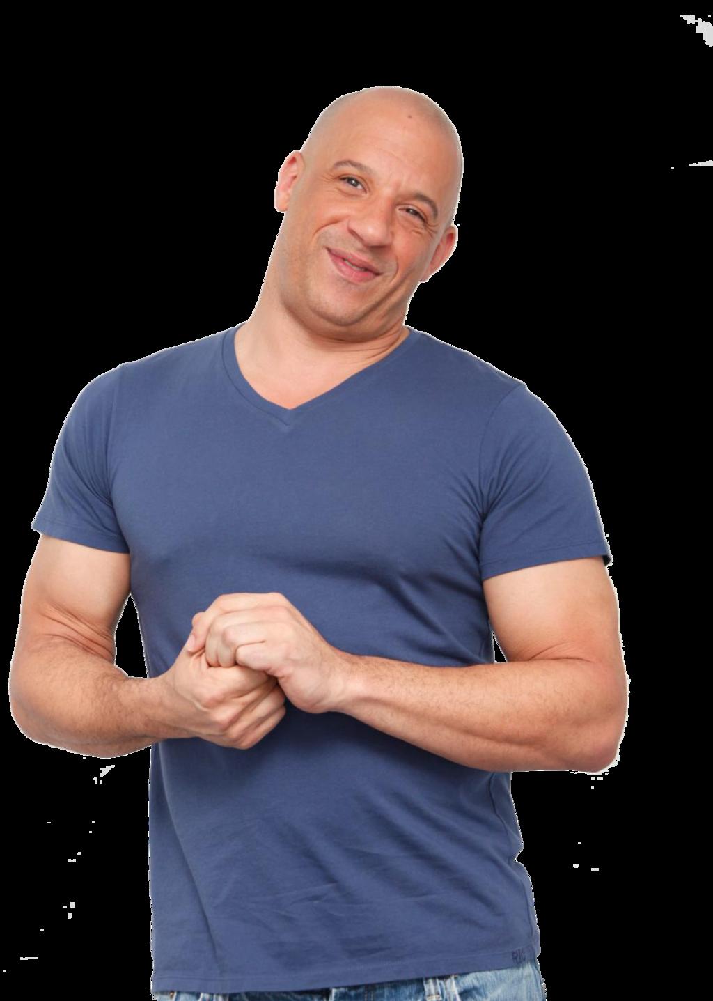 Vin Diesel PNG Transparent Image