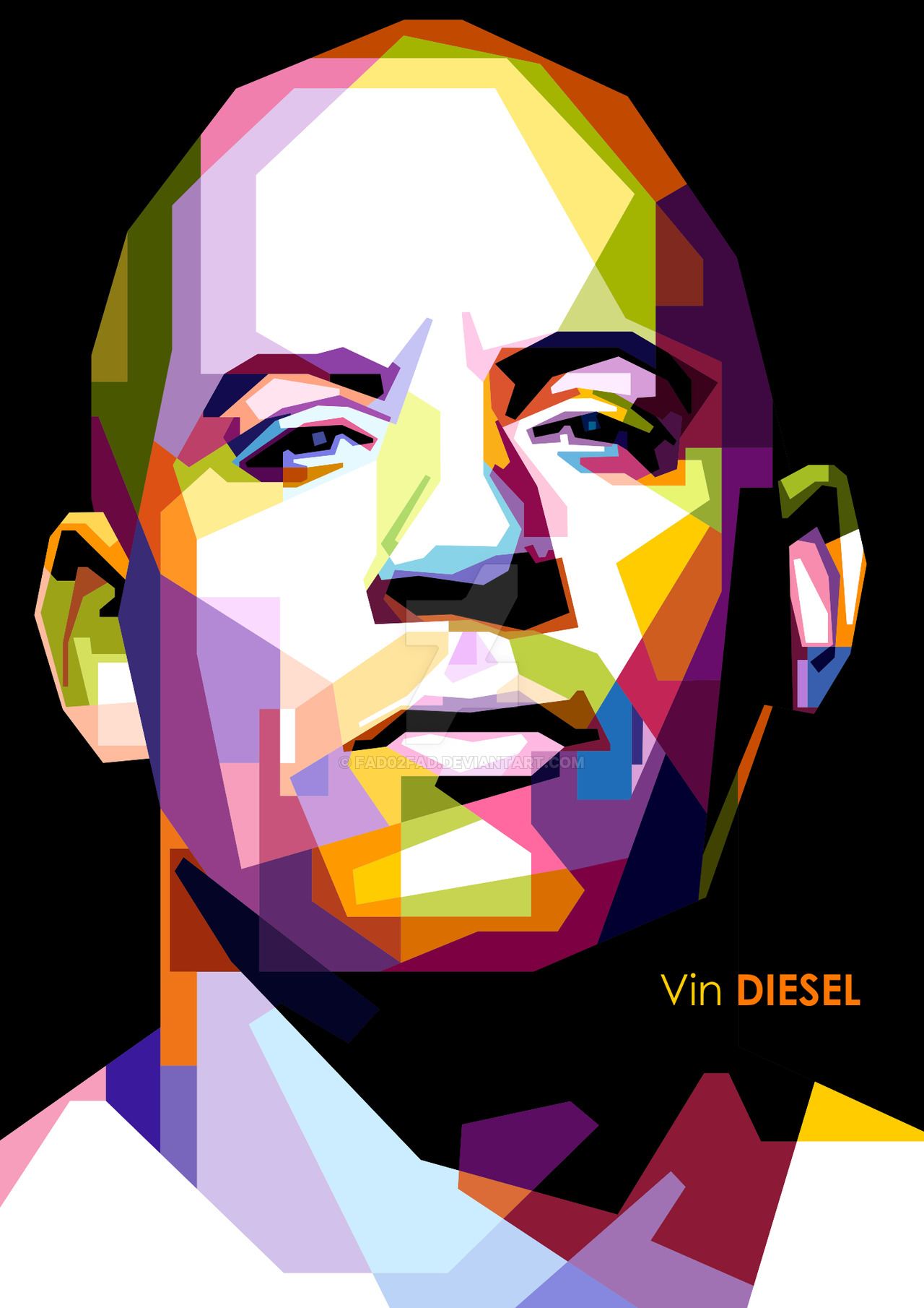 wpap art - Google Search. Polygon ArtVin DieselArt hdclipartall.com