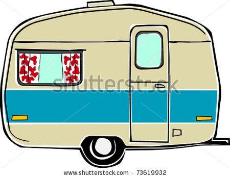 vintage camper clipart - Google Search