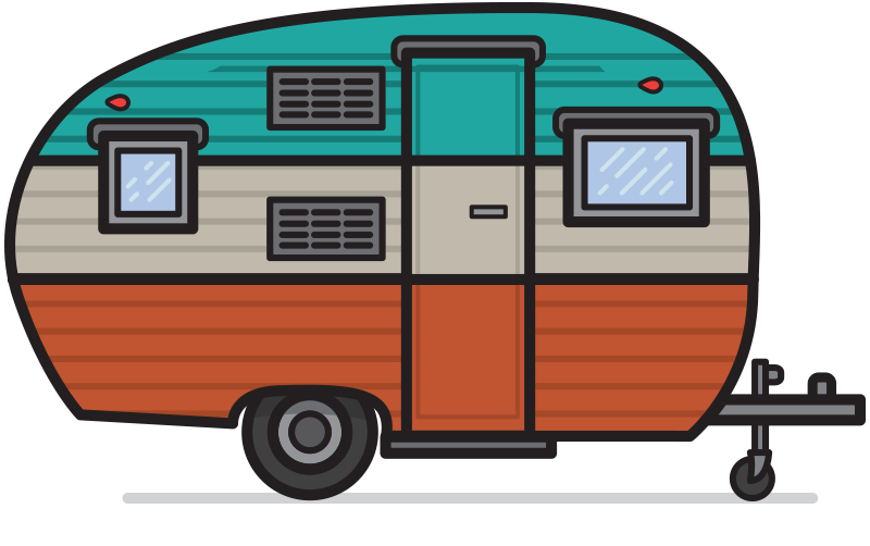 Vintage Camper Pack Vintage .