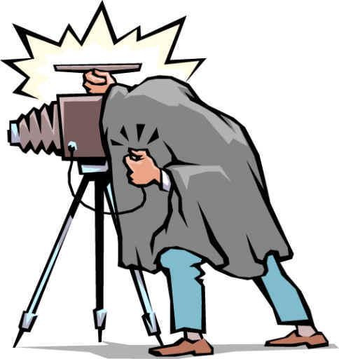 Vintage Photographer Clipart