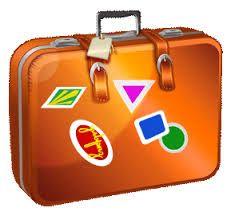 vintage suitcase clipart - Google Search