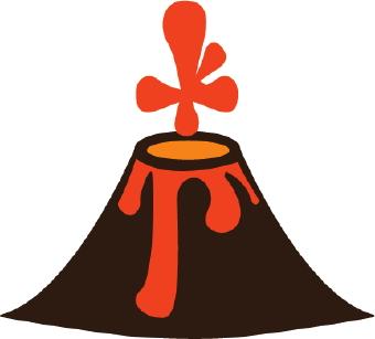 Clipart volcano biezumd