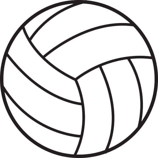 Volleyball Clipart No .