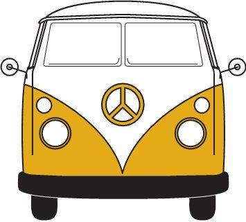 Vw Bus Clipart Cliparts Co