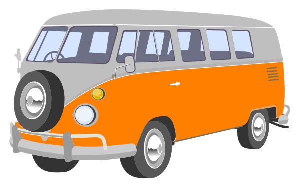 Vw Van Clip Art At Clker Com Vector Clip Art Online Royalty Free
