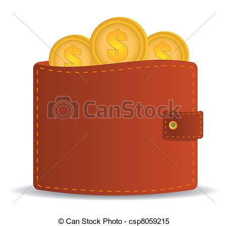 Money Wallet Vector