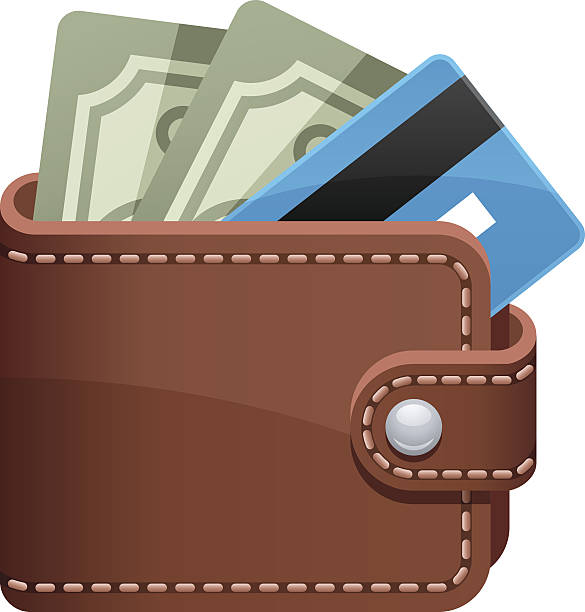 Wallet Credit Card Clipart