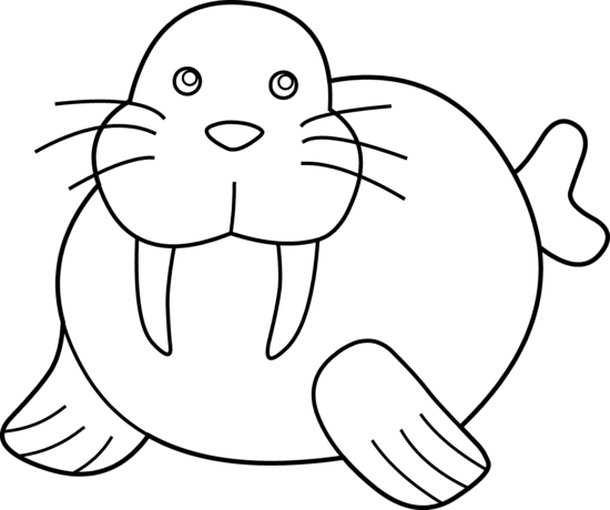 Walrus Clipart Free Clipart Images