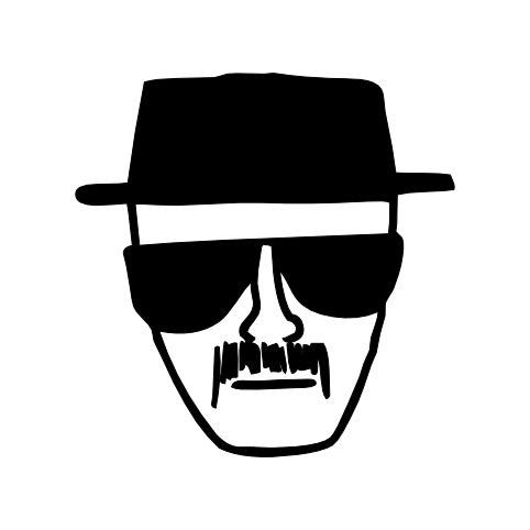 Breaking Bad Heisenberg Walter White Decal