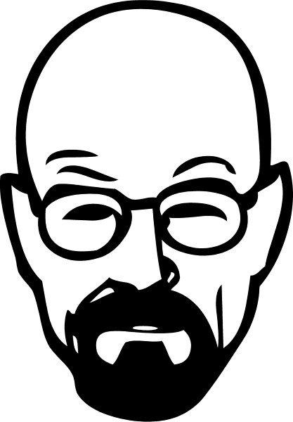 Breaking Bad Heisenberg (Walter White) Decal / Sticker 10