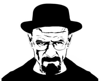 Breaking Bad - Heisenberg - Walter White Vinyl decal