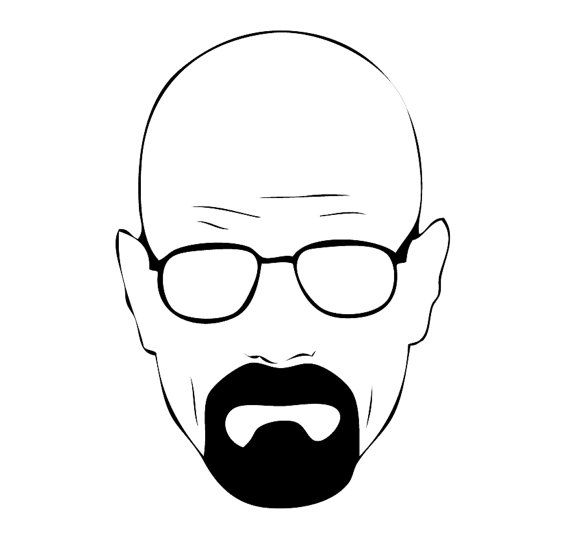 Breaking Bad Vinyl Sticker Decal Walter White