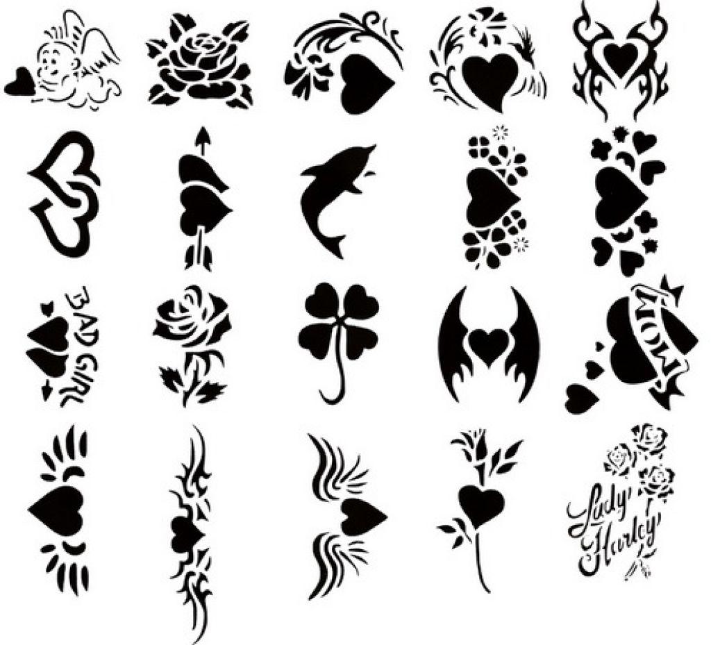 Washable tattoo clipart