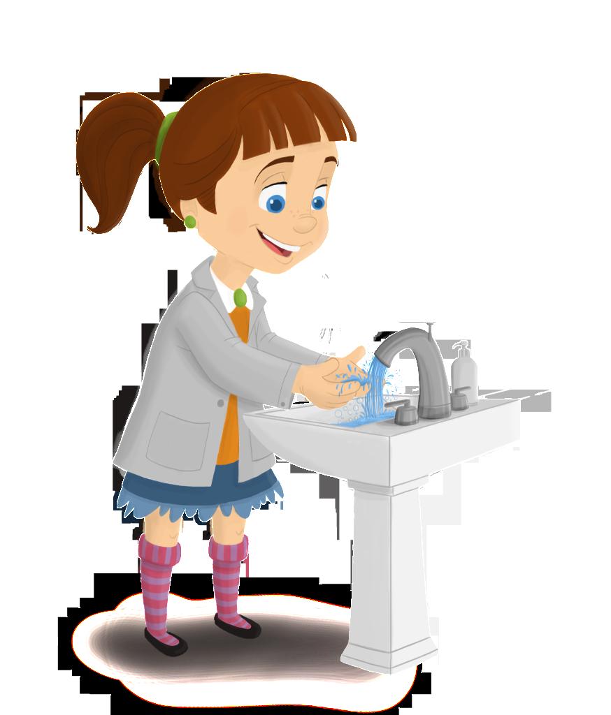 Washing Hands Cartoon Clipart Best