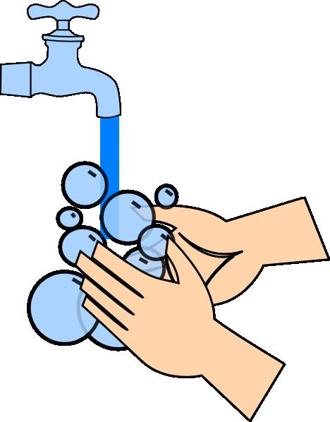 Washing Hands Clip Art At Clker Com Vector Clip Art Online Royalty