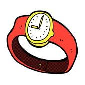 Cartoon Alarm Clock · Comic Cartoon Wrist Watch