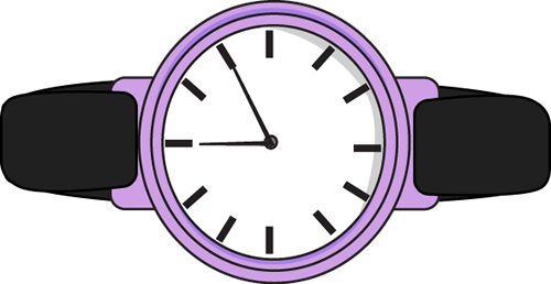 Watch Purple Clipart #1 - Watch Clipart