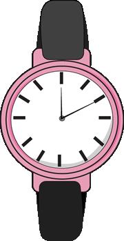 Wrist Watch Clipart #1