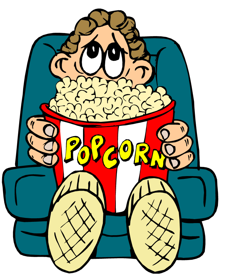 Watching Movies Clipart Clipart Panda Free Clipart Images