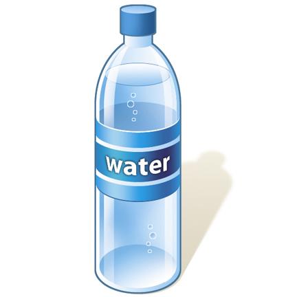 Water Bottle Clip Art Happy Fan Chat