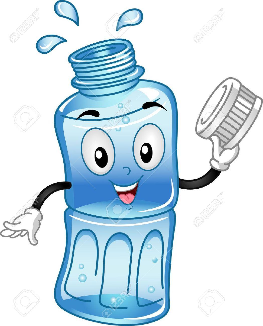 water bottle: Mascot .