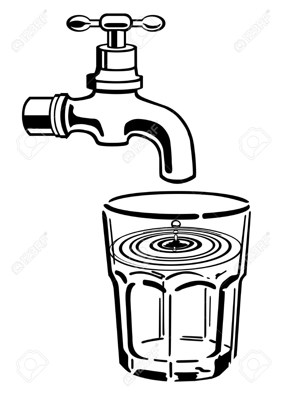 Water Clipart Black And White-hdclipartall.com-Clip Art987