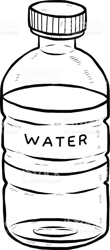 water bottle clipart black white · Drink Water Bottle Stock Vector Art u0026  More Images of 2015