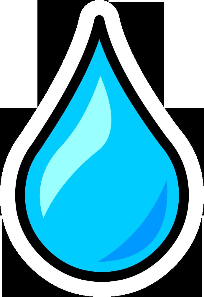 Water drop clip art - .