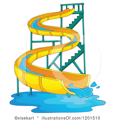 Water Slide Free Clipart #1