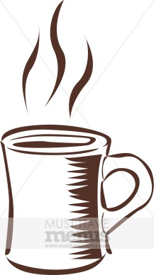 Water Steam Clipart Steaming Coffee Clipart
