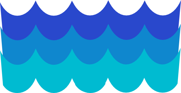 Water waves clipart free clipart images