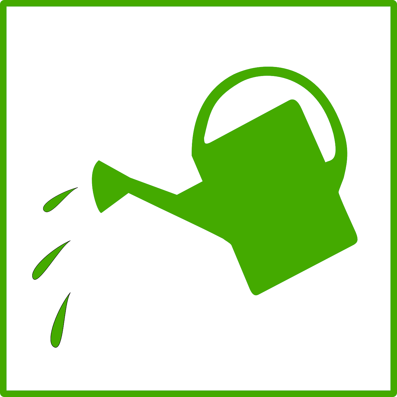 watering can clip art