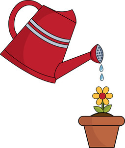 Watering Clipart Image: clip .