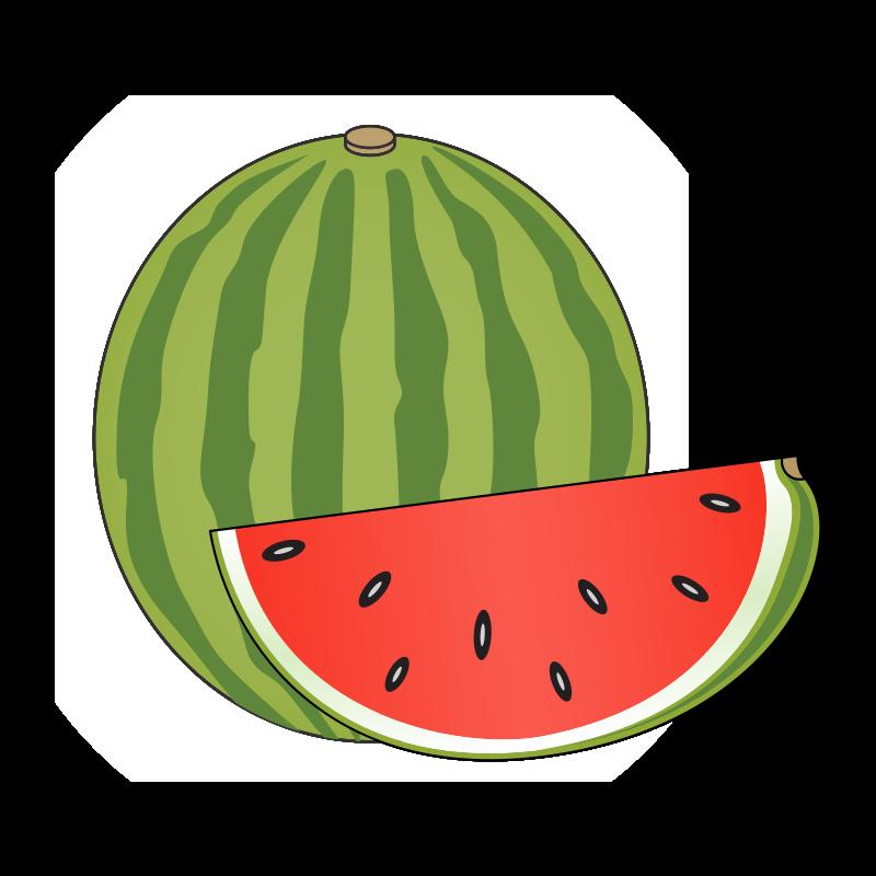 Watermelon Clipart-Clipartlook.com-800