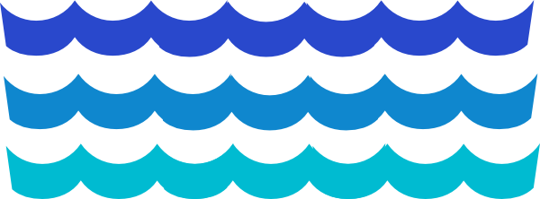 Wave clip art vector