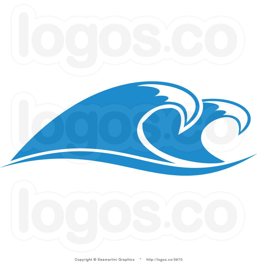 Ocean Wave Clipart #1