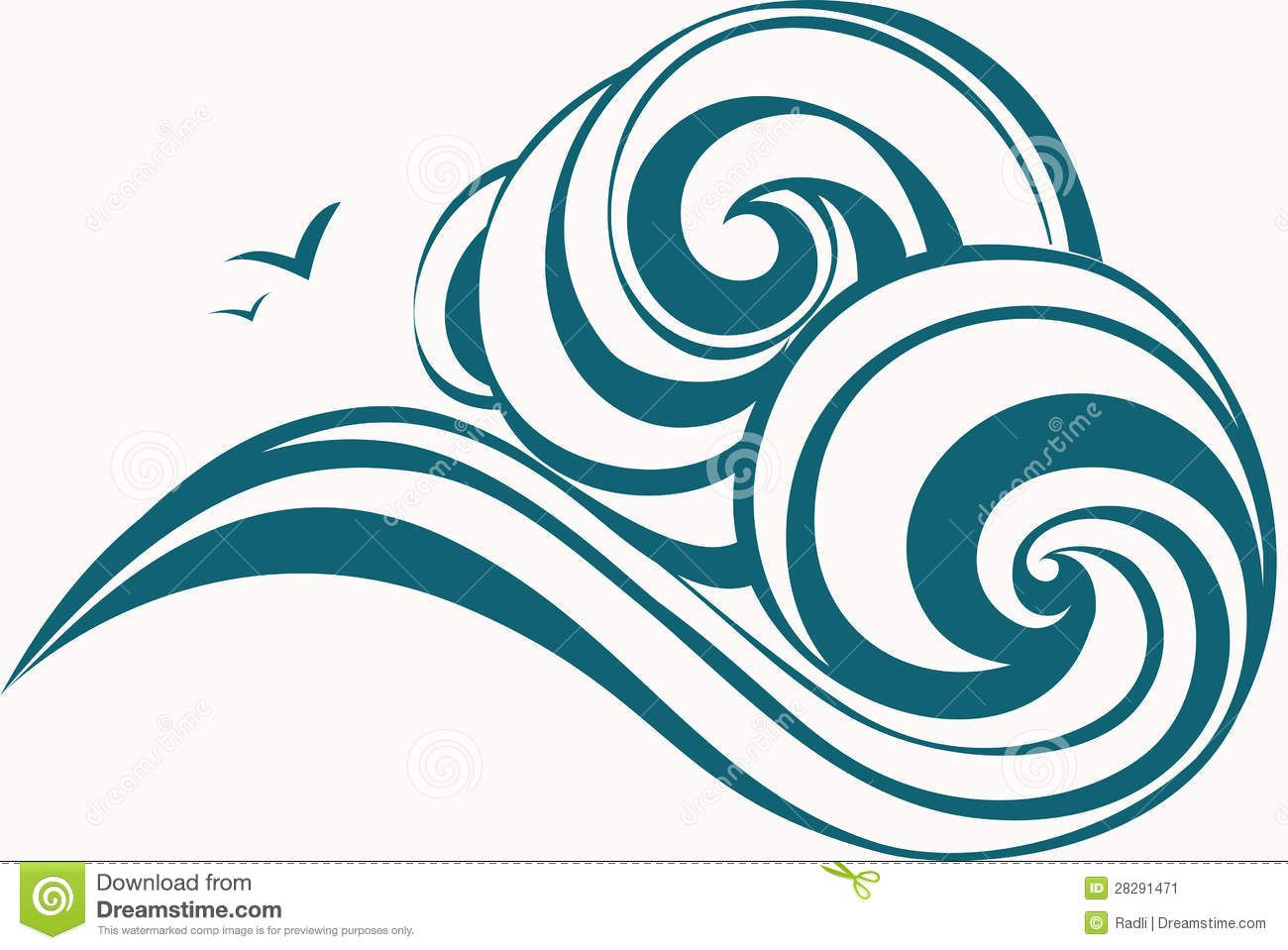 Ocean Waves Clipart | Clipart Panda - Free Clipart Images