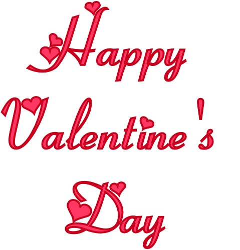 Webwords Happy Valentines Day 3 Classroom Clipart