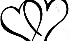 wedding heart clipart