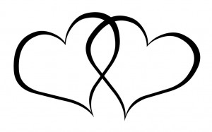 wedding hearts clipart