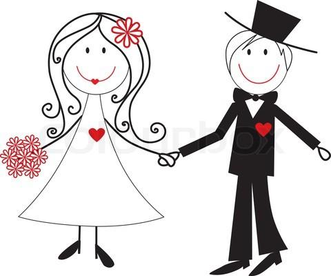 Wedding Cartoon Clipart