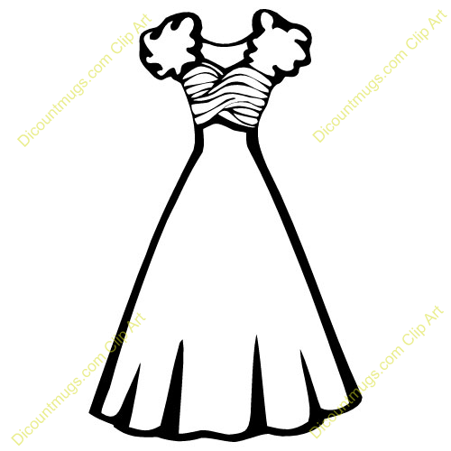 Wedding Dress Clipart Item 2 Vector Magz Free Download Vector